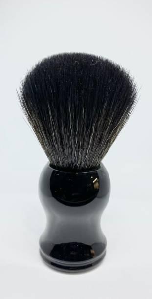 Osking Soft & Absorbent Black Bristles & Long Resin Black Handle  for Men Shaving Brush