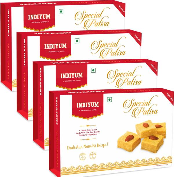 Indiyum Indian Sweets Mithai Special Patisa Box