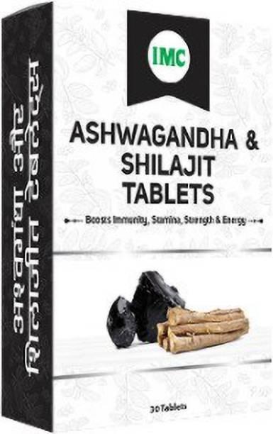 IMC ASHWAGANDHA AND SHILAJIT TABS