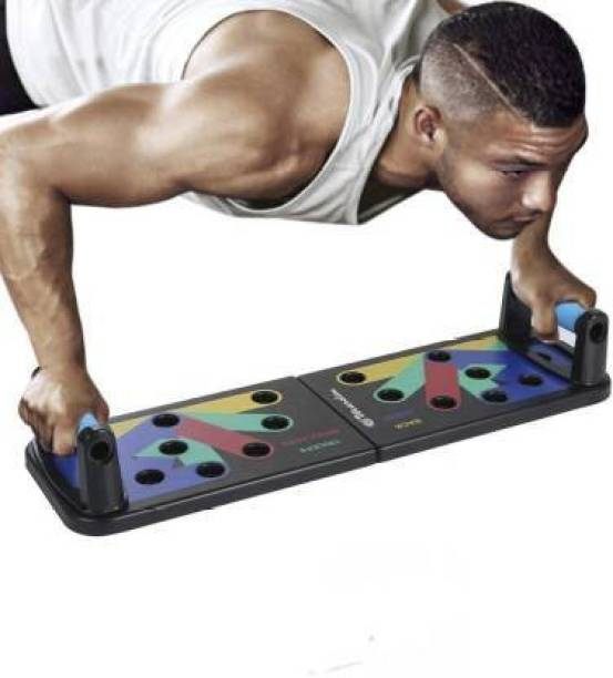 Parage Push Up Board Push Up 9 in 1 Color -Coded Push-up Bracket Board Push-up Bar
