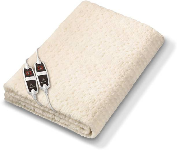 Beurer Printed Double Electric Blanket