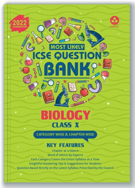 ICSE Most Likely Question Bank Biology Class 10 (2022 Exam) - Categorywise & Chapterwise Topics, Latest Syllabus Pattern and Solved Papers