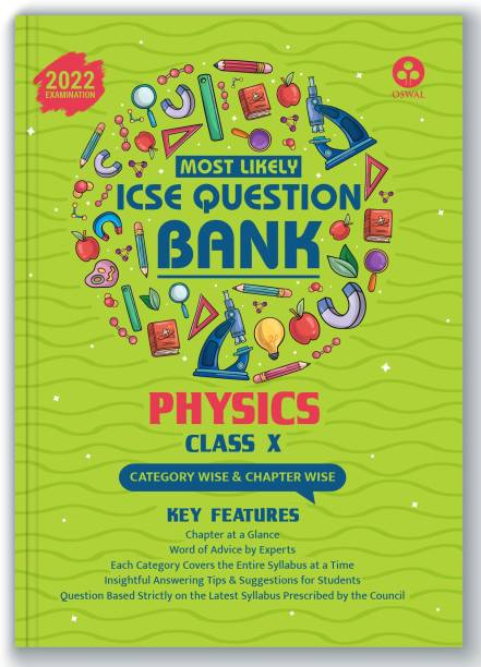 ICSE Most Likely Question Bank Physics Class 10 (2022 Exam) - Categorywise & Chapterwise Topics, Latest Syllabus Pattern and Solved Papers