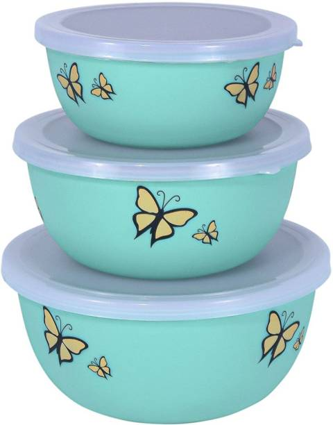 WEB SHOPY WS BUTTERFLY BOWLS Stainless Steel, Polypropylene, Plastic Serving Bowl