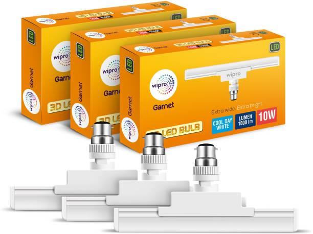WIPRO 10 W T-Bulb B22 LED Bulb