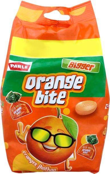 PARLE Bigger Bite Orange Candy