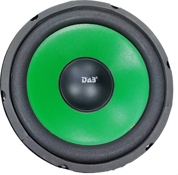 DAB 10 inch Green 120 Magnet Subwoofer