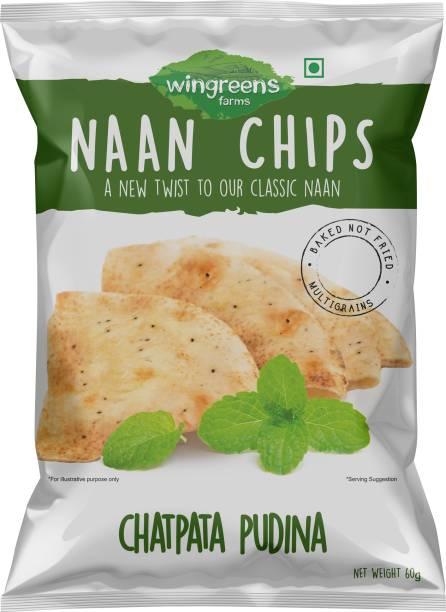 WINGREENS Chatpata Pudina Naan Chips