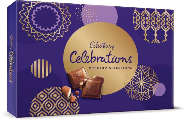 Cadbury Celebrations Premium Assorted Chocolate Gift Pack Bars