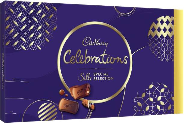 Cadbury Celebrations Silk Special Selection Gift pack Bars