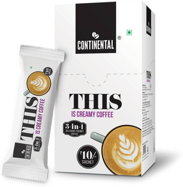 Continental THIS Is Creamy Coffee Premix 3 in 1 Instant Coffee
