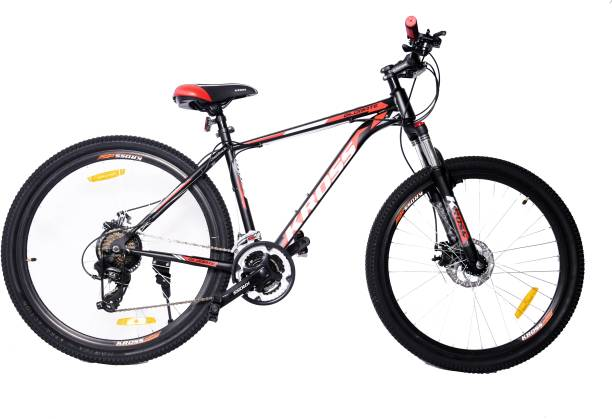 Kross Globate Front Lock Suspension with Dual Disc Brakes 21 Speed Cycle 27.5 T Mountain/Hardtail Cycle