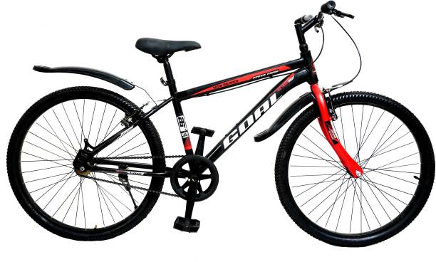 Goal MTB 26T Mountain Bicycle Gear Single Speed 26 T Mountain Cycle (Single Speed) 26 T Mountain Cycle