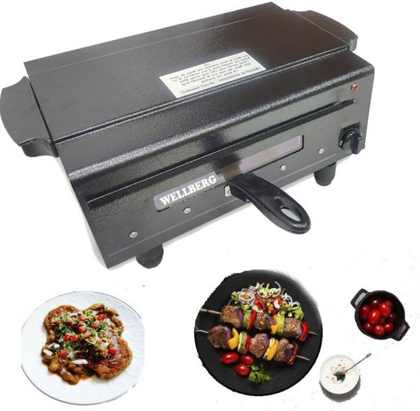 Wellberg India's New Automatic Timer & Heat Controller With Regulator Electric Tandoor Pizza Maker