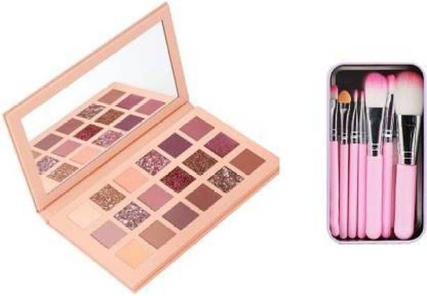 Microbirdss Nude With Brush COLOR THE NUDE EYESHADOW PALETTE 20 g 20 g