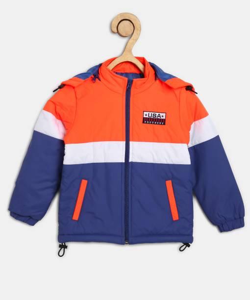 PROVOGUE Full Sleeve Colorblock Boys Jacket