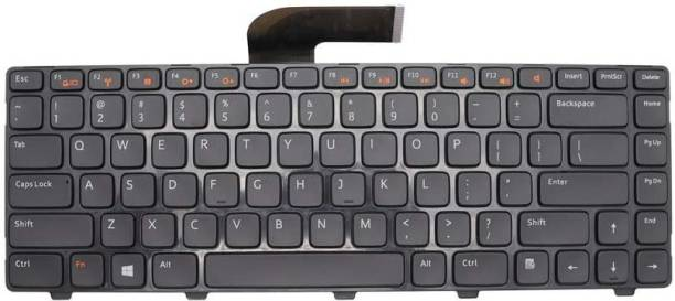 WISTAR 0PVDG3 05M98N AER01U00220 90.41D07.S01 0DMJ59 NSK-DX0BW0C 84P17 084P17 Keyboard Replacement with Frame Compatible with Dell Inspiron 14R N4110 N4120 M4110 N4050 N5040 N5050 M5040 M5050, VOSTRO 1440 1445 1450 1550 2420 2520 3350 3450 3460 3550 3555 3560 Laptop Keyboard Replacement Key