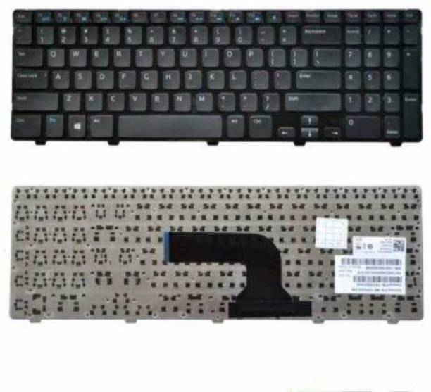 WISTAR Replacement Keyboard Compatible with Dell Inspiron 15-3521 15-3537 15R-5521 15R-5528 15R-5537 M531R Vostro 2521 Laptop YH3FC 0YH3FC OYH3FC Laptop Keyboard Replacement Key