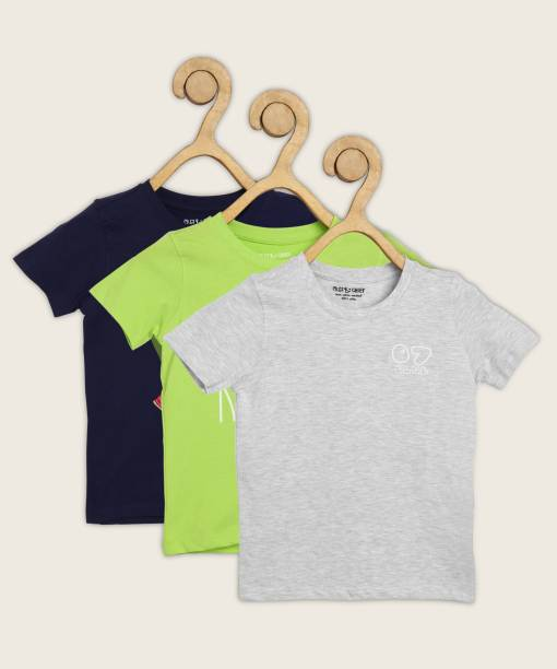 Miss & Chief Boys Graphic Print Pure Cotton T Shirt