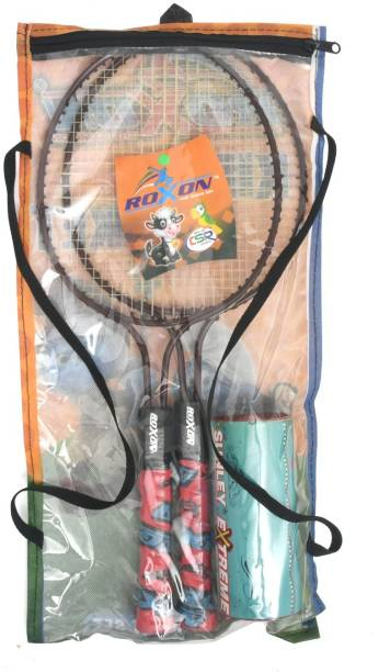 ROXON 2 Piece Junior Mini Badminton Kit