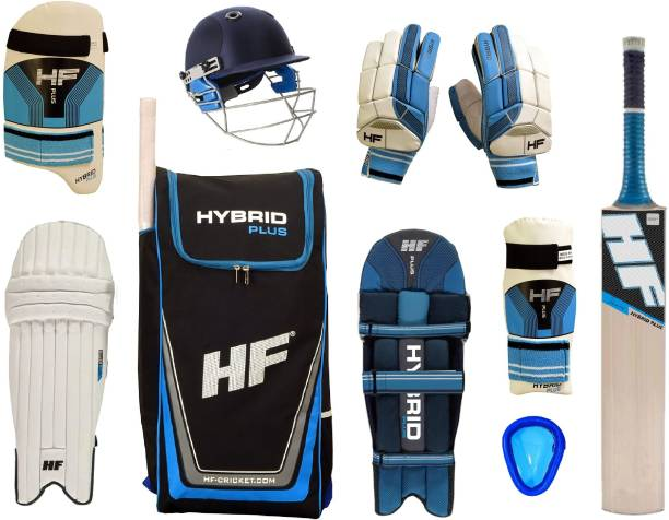HF HYBRID PLUS Cricket set of 4 no ( Ideal for 8-10 years ) Complete Cricket Kit