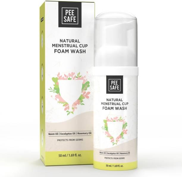 Pee Safe Natural Menstrual Cup Foam Wash Intimate Foam