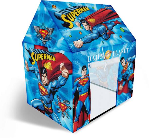 Miss & Chief Superman Licensed Tent House