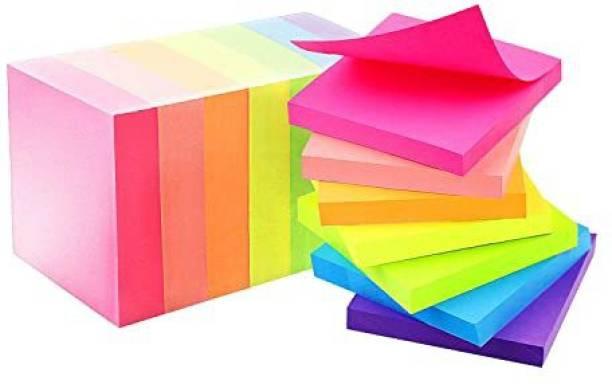 anjanaware sticky notes 500 Sheets regular, 5 Colors