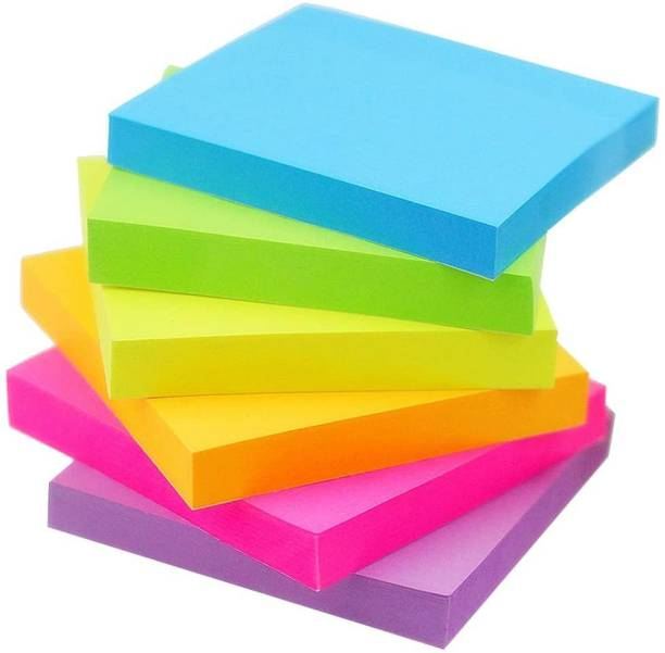 anjanaware post it 600 Sheets regular, 6 Colors