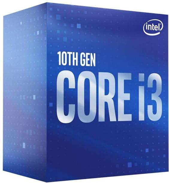 Intel I3-10100F LGA1200 3.6 GHz Upto 4.3 GHz LGA 1200 Socket 4 Cores 8 Threads 6 MB Smart Cache Desktop Processor