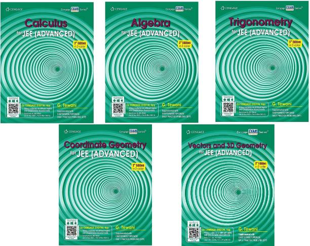 JEE (Main & Advanced) Maths For 2021 New Edition In Two Colour Books ( Set Of 5 Books )Combo