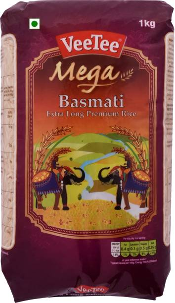 VeeTee Mega Basmati Rice (Long Grain, Polished)