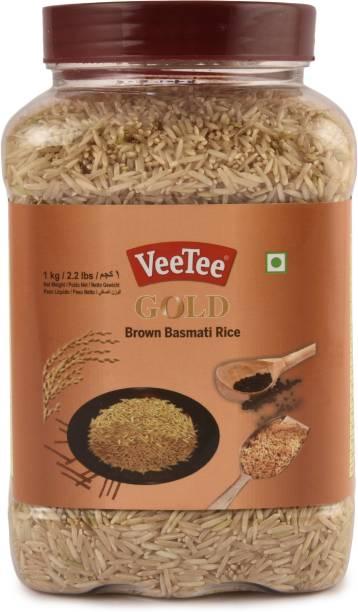 VeeTee Gold Brown Basmati Rice Brown Basmati Rice (Long Grain, Unpolished)