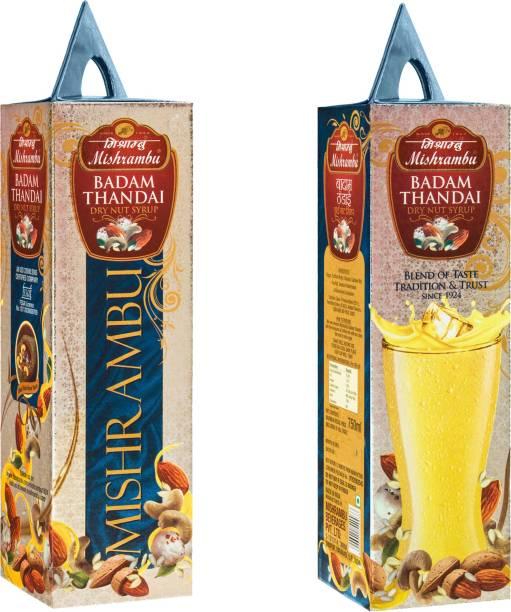 Mishrambu Beverages Private Limited MISH1002 BADAM THANDAI