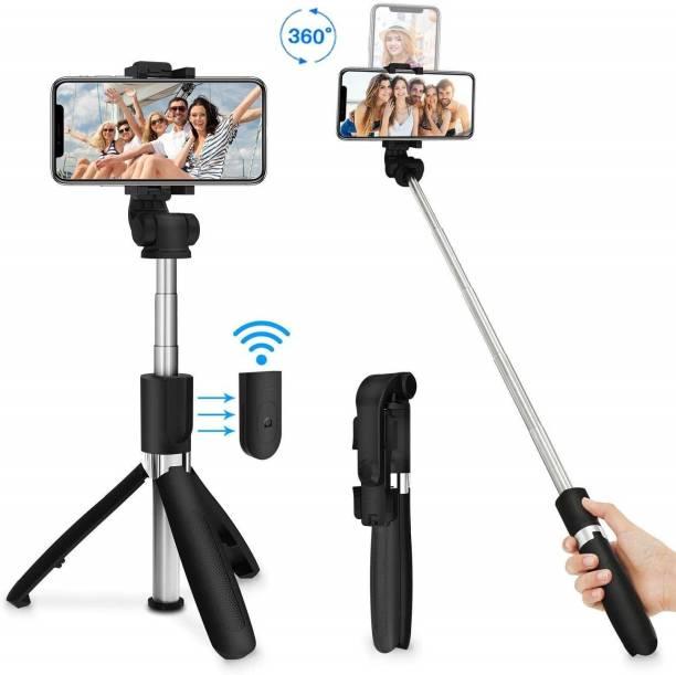 blue seed BBD XT-02 2 in 1 selfie stick, Tripod with Remote control Tripod