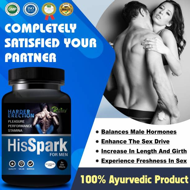 Natural His Spark Sexual Capsules For Increases Your Sexual Time & Stamina/Sexual Power Tablets For Men