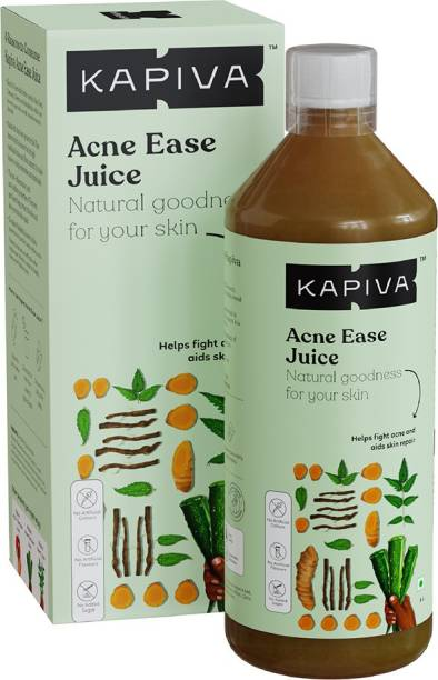 Kapiva Acne Ease Juice - Ayurvedic Juice for Acne Control | 4 Ayurvedic Herbs for Skincare