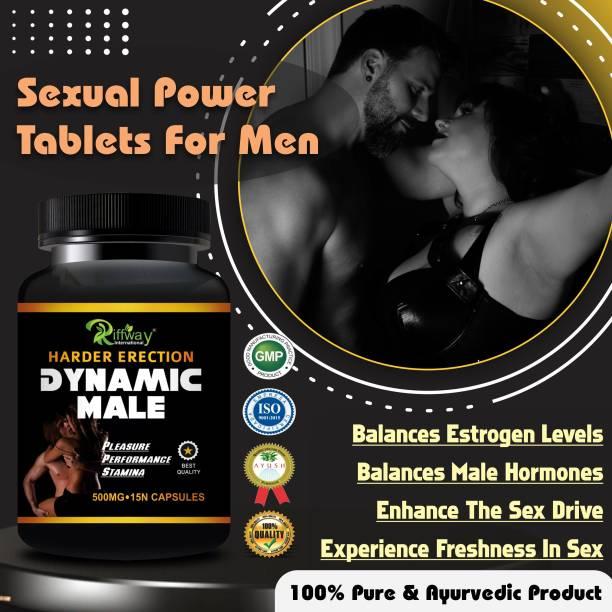 Sabates Dynamic Male Sexual Capsules Sex Time Badhane Ki Dawa/ Sexual Power Booster Tablets 100% Ayurvedic