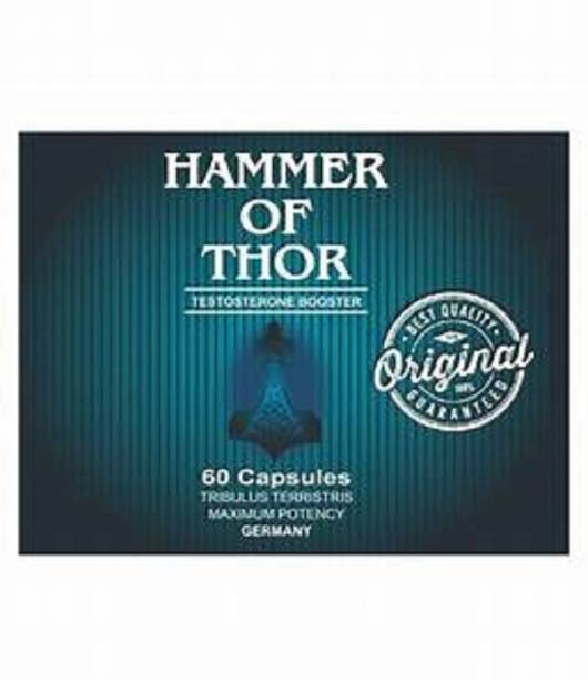 THE NIGHT CARE Hammer Of Thor Ultra Strong Supplement Booster For Male - 60 capsules