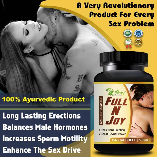 Fasczo Full N Joy Sexual Capsules Sex Time Badhane Ki Dawa/ Sexual Power Booster Tablets 100% Ayurvedic