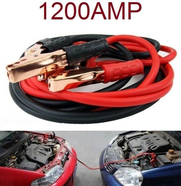 Miwings Heavy Duty Jumper Booster Cables 6 ft Battery Jumper Cable
