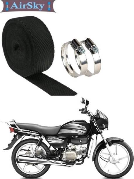 AIRSKY Silencer Wrap For Hero-Splendor-Pro Bike Exhaust Heat Shield