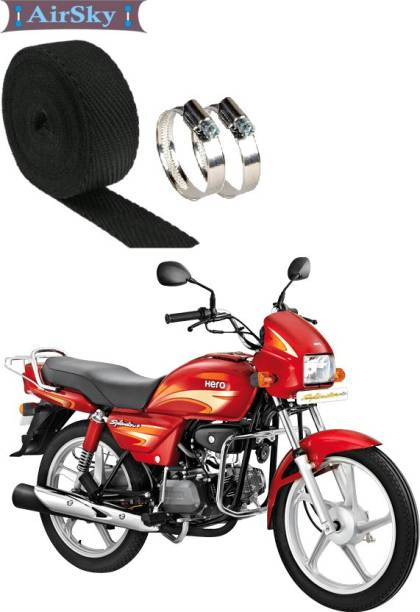 AIRSKY (3 Mtrs) Exhaust Heat Shield For Bike Bike Exhaust Heat Shield