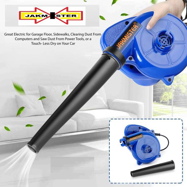 Jakmister ANTI-VIBRATION Sparkless Technology Motor Unbreakable Plastic 700 W 16000RPM 90 Miles/Hour Electric Dust PC Cleaner Forward Curved Air Blower