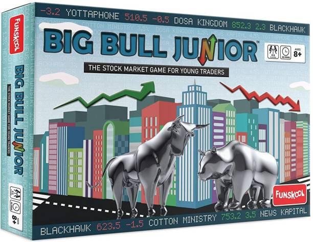 FUNSKOOL Big Bull Junior Party & Fun Games Board Game