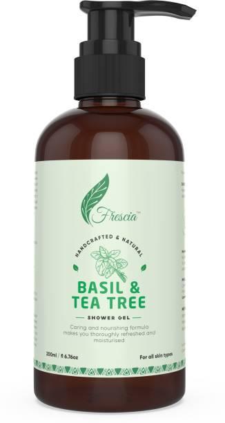 Frescia Basil & Tea tree shower gel
