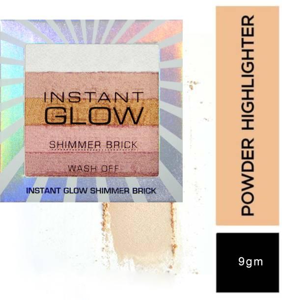 VARS LONDON Bronzer/ highlighter/ blusher combo palette | shimmer brick highlighter palette | bronzer and blusher combo palette |