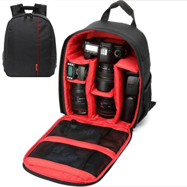 extra star Camera Lens Shoulder Backpack Case for Canon Nikon Sigma Olympus Camera Bag  Camera Bag
