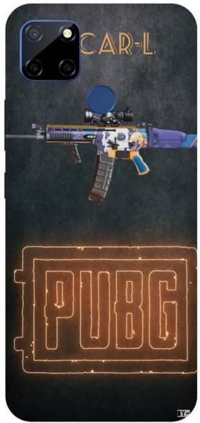 Snapcrowd Back Cover for Realme C12 Pubg Scra-l Gun printed case cover