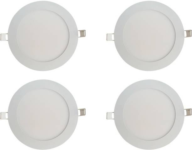BENE LED 12w Round Slim Recessed Panel, Color of LED White Recessed Ceiling Lamp